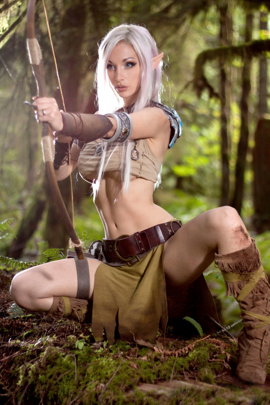 Elven girls are naked sexual galleries